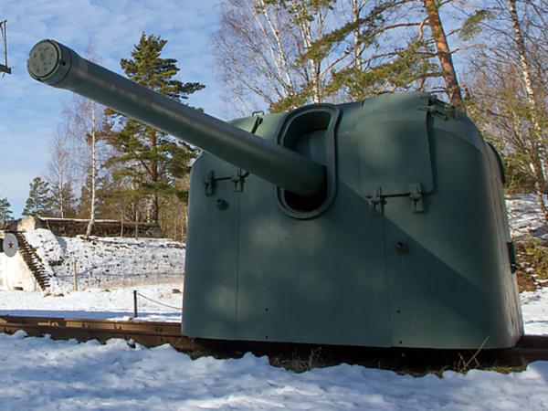 Тяжелая артиллерия в битве за Красную горку