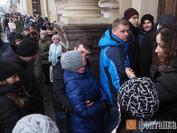 Петербуржцы после новогодних каникул обвалили сайт ЗАГС