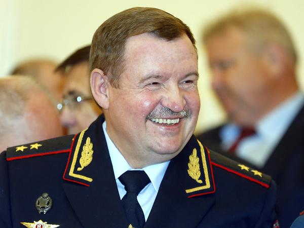 Начальник ГУ МВД по Петербургу Сергей Умнов.
