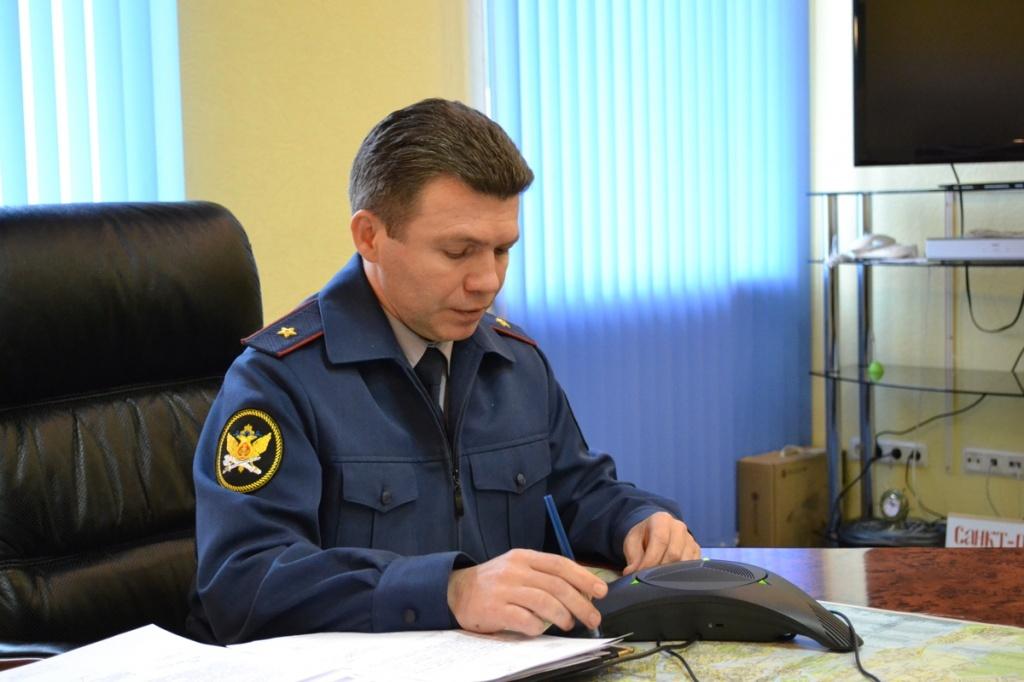 Начальник УФСИН России по г. Санкт-Петербургу и Ленинградской области Игорь Потапенко.