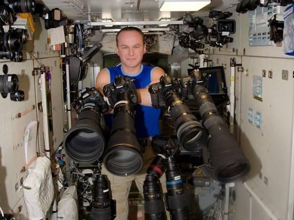 Космонавт Рязанский: Мне сверху видно всё