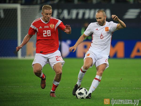 Как сборная сыграла свой лучший матч в Петербурге