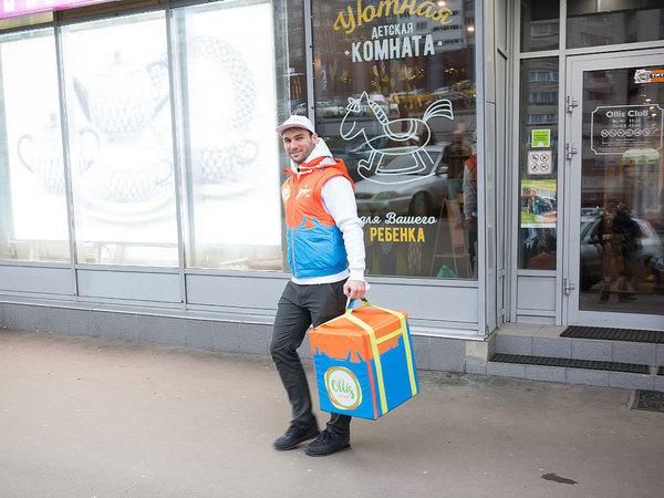 Защитник «Зенита» стал разносчиком пиццы
