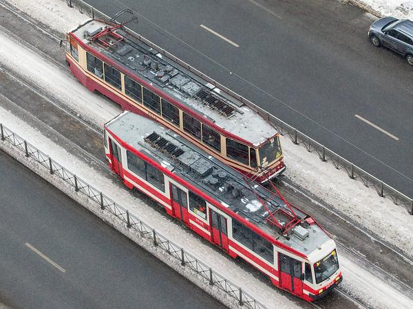 Петербургский трамвай становится частным