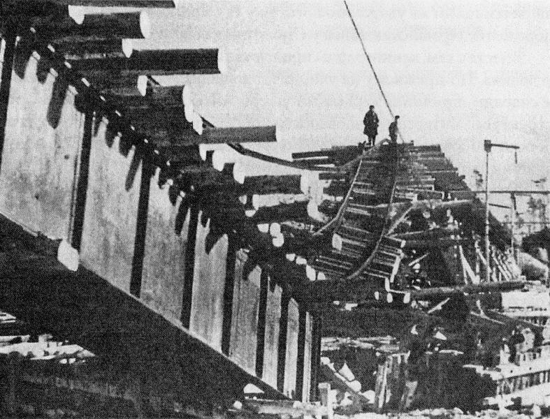 Последствия обстрела 2 марта 1943 года