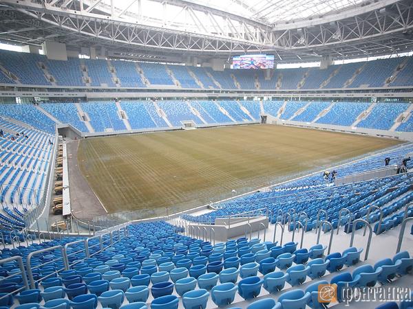 FIFA завершила инспекцию стадиона на Крестовском
