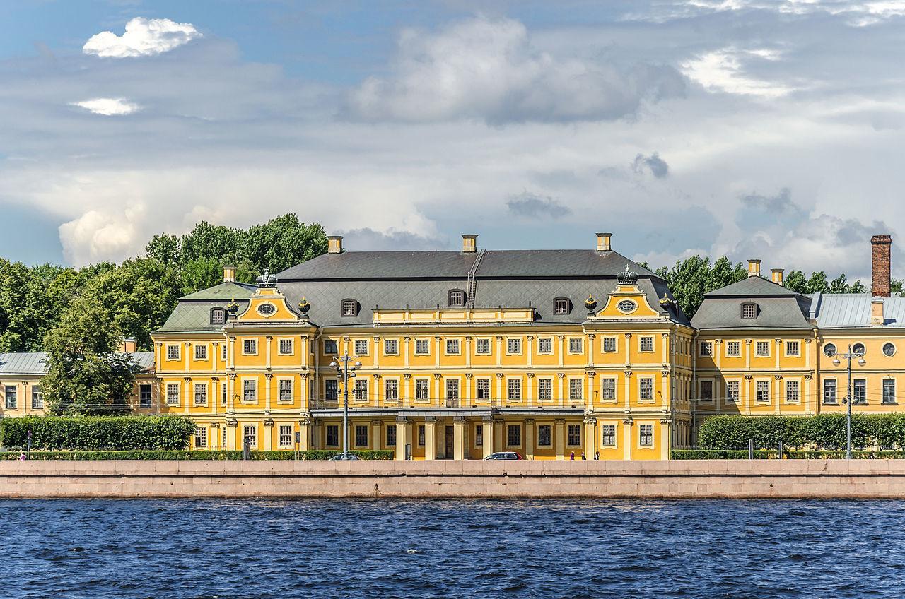 Дворец князя Меншикова, место венчания царевны Анны и герцога Фридриха-Вильгельма
