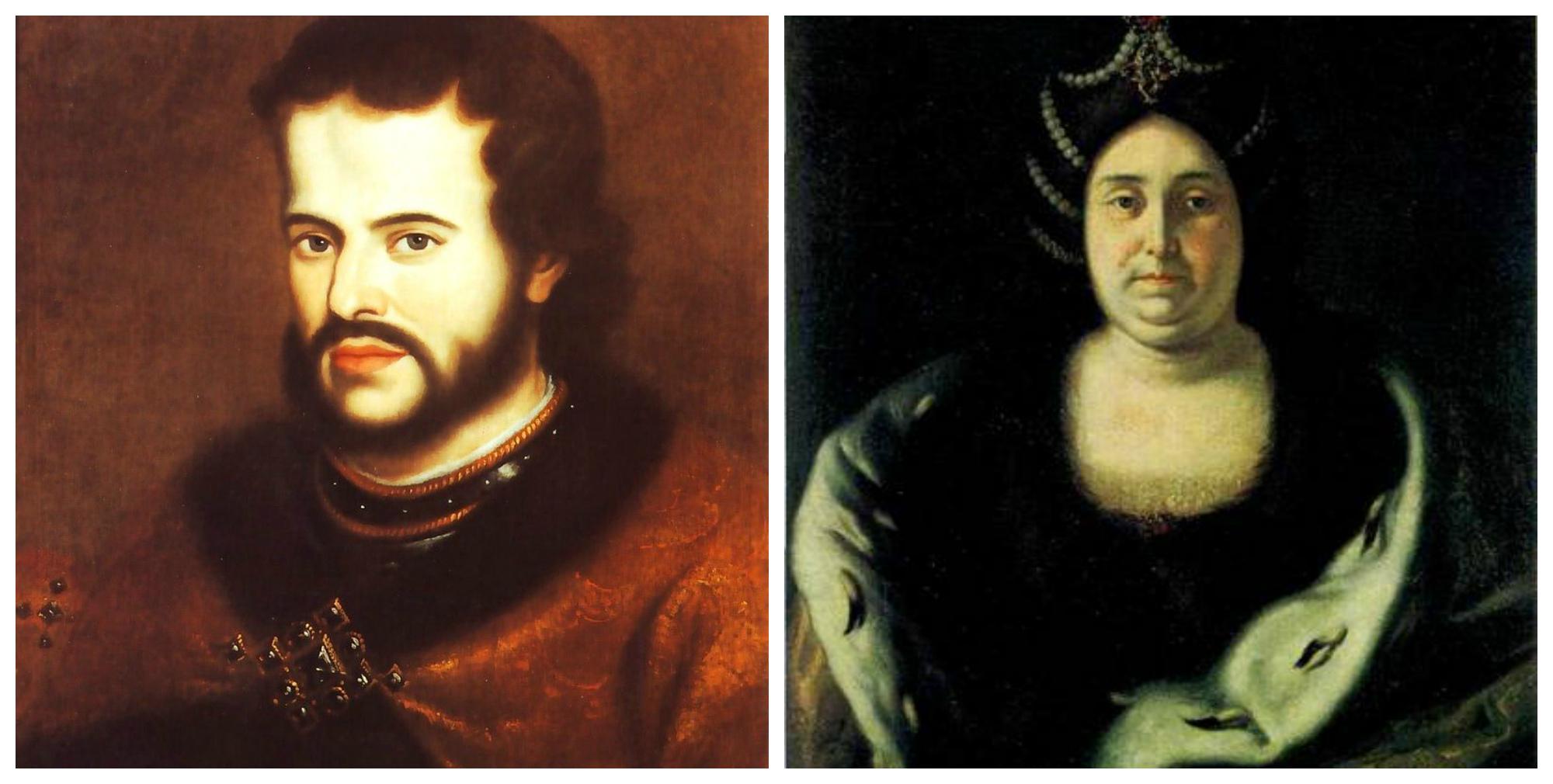 Царь Иван V и царица Прасковья Фёдоровна