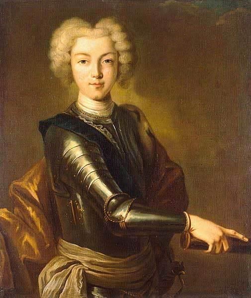 Император Петр II. Портрет неизвестного художника, около 1800