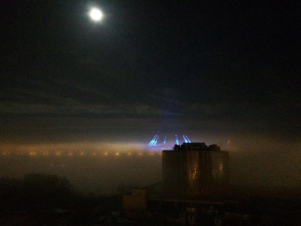 В Петербурге прогнозируют три дня туманов