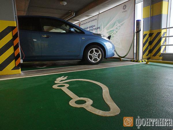 Электромобили оставили без подзарядки