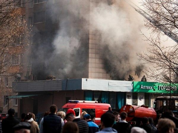 Взрыв и пожар в Москве: двое погибших, 16 пострадавших