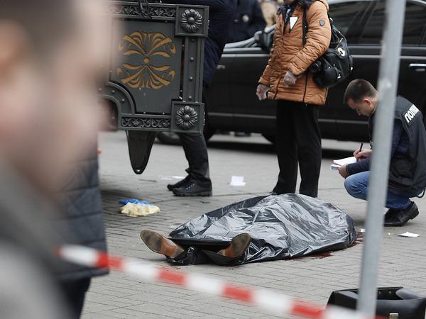 Убийца Вороненкова в Москве