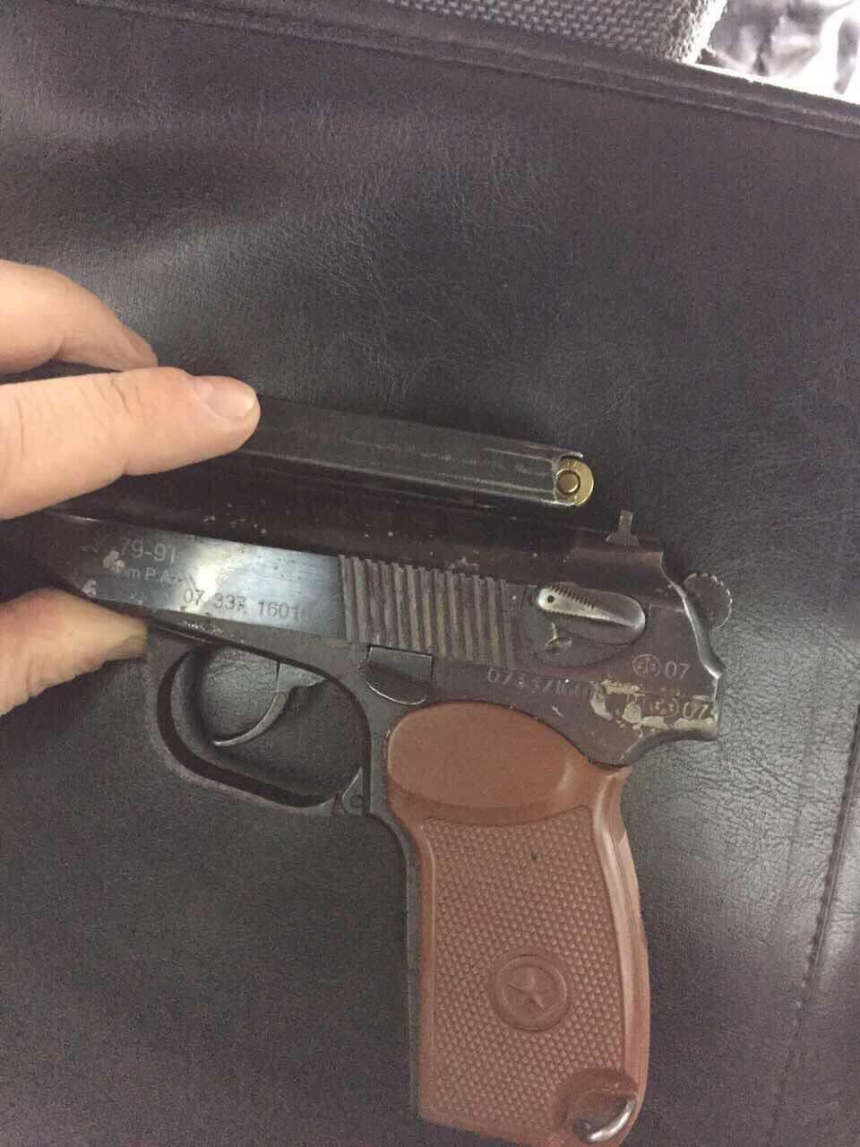На площади Победы ГИБДД задержала бородача с пистолетом (Иллюстрация 1 из 1)