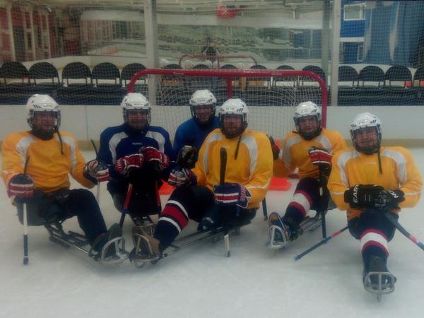 «ТОЧКА ОПОРЫ»: «Спасибо за поддержку петербургской команды по следж-хоккею»