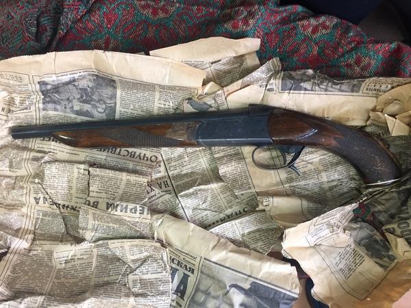 В Петербурге нашли ружье, завернутое в газету сорокалетней давности