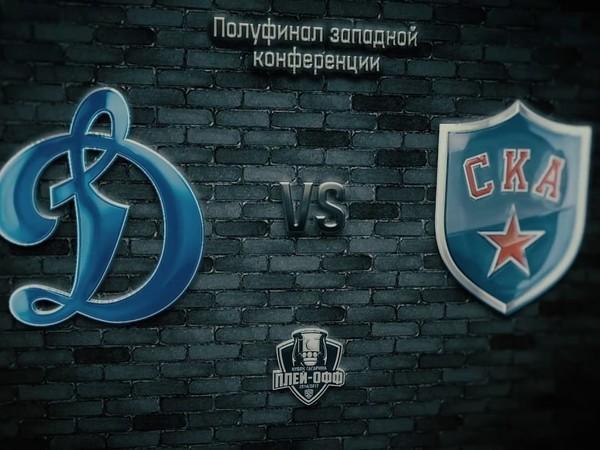 Хоккейные клубы СКА и «Динамо» обменялись видеопосланиями друг к другу