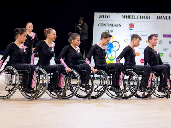 Первый ПАРАФЕСТ для юных танцоров на колясках