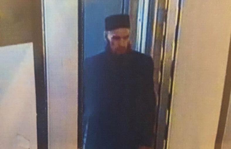 Фото человека, которого уголовный розыск ищет в связи со взрывом