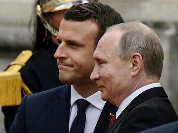 Макрон приоткрыл для Путина форточку