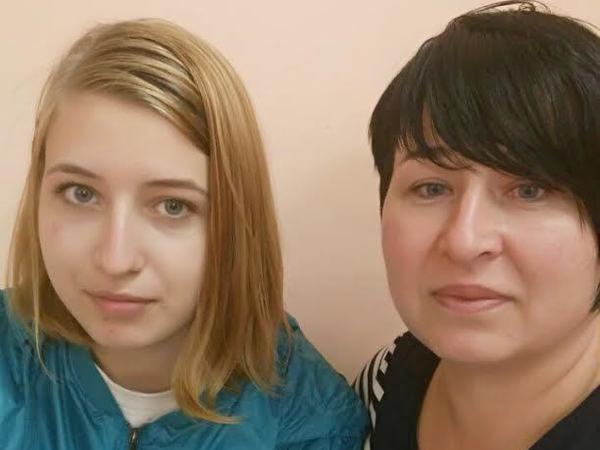 Ирина и Эвелина Муртазины в спецприемнике
