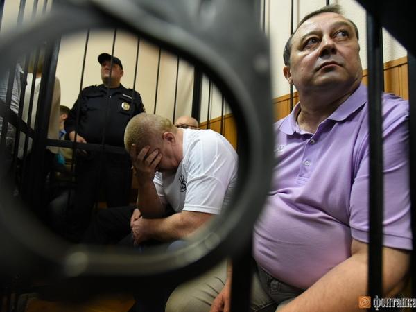 Экс-начальник ГУ МВД СЗФО Быков получил семь лет за «золотые парашюты»