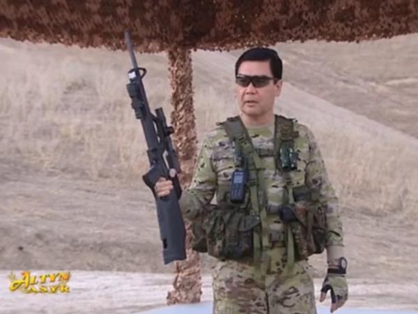 кадр из видео/Youtube/Хроника Туркменистана