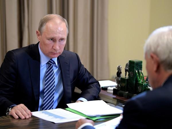 Зеленая папка Путина в действии
