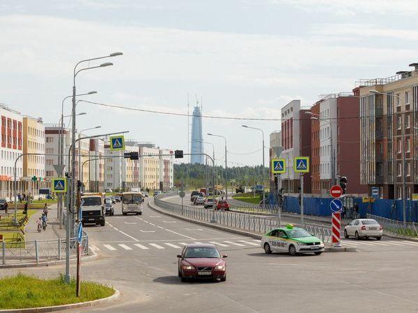 «Главстрой-СПб» ввел в эксплуатацию три дороги в ЖК «Юнтолово»