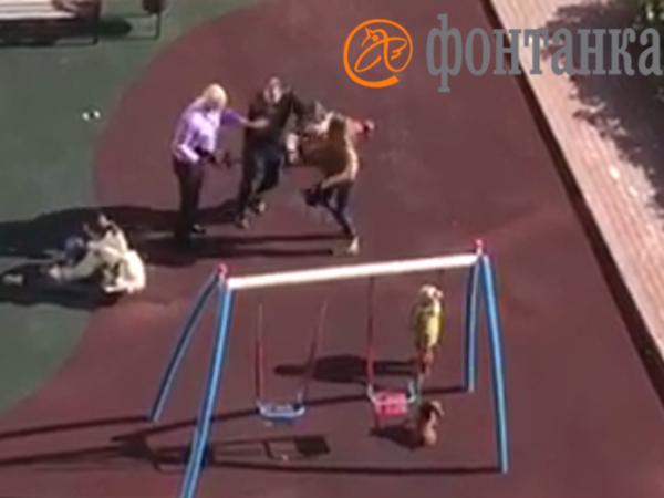 В Петроградском районе женщина ударила ногой трёхлетнего ребенка, защищая свою собачку