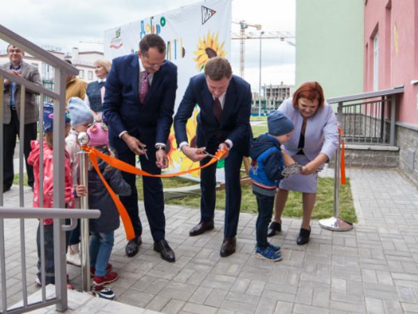 В микрорайоне «Новое Сертолово» официально открыт детский сад