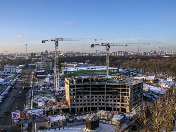 Комплекс апартаментов LIKE: первый блок за месяц «подрос» на два этажа