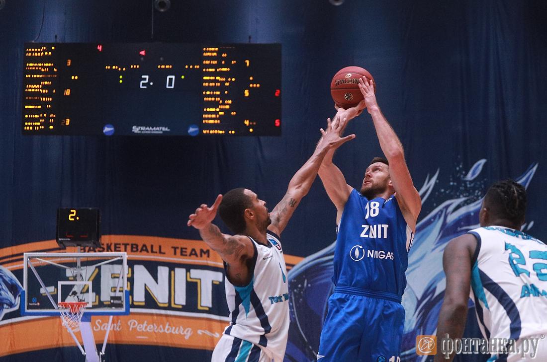 Баскетбольный «Зенит» стартовал в Еврокубке с победы на турецким «Тюрк Телеком» (Иллюстрация 1 из 1) (Фото: Сергей Михайличенко)