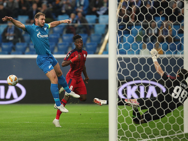 Семак сыграл с «Бордо» в прагматичный футбол. «Зенит» остается во главе Лиги Европы