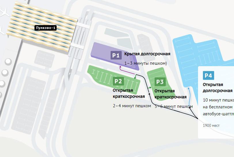 Пулково настойчиво хочет вернуть бесплатную парковку только на 10 минут. Арбитраж отказал трижды (Иллюстрация 1 из 1) (Фото: скриншот с сайта pulkovoairport.ru)