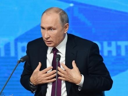 Четыре часа пресс-конференции Путина - за 60 секунд