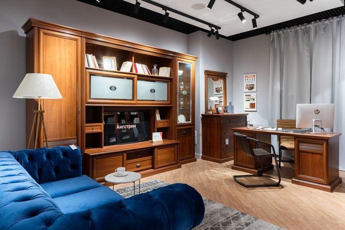 Уютная гостиная для обсуждения проектов/ Компания «Ангстрем»