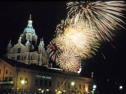 Выходные 29–31 декабря: как встретят Новый год в разных городах Финляндии