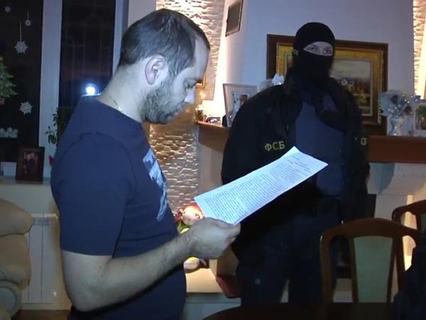 кадр из видео/оперативная съемка ФСБ России/konkretno2008