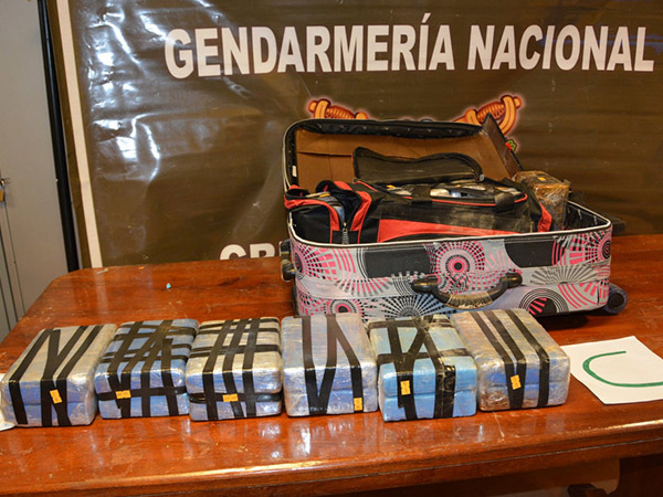 фото из официального твиттера полиции Аргентины