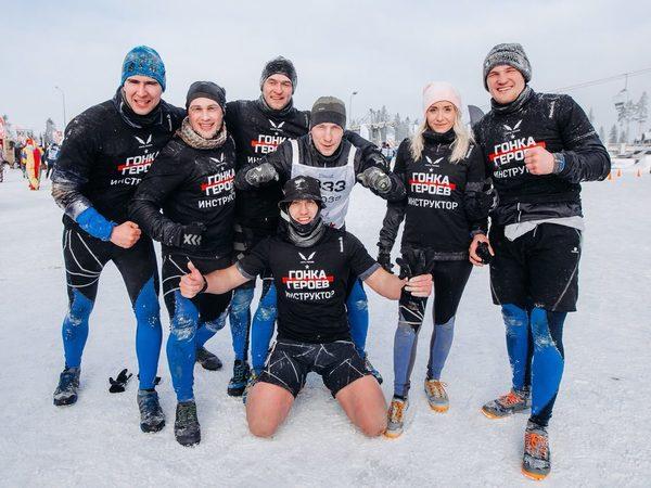 Первая зимняя «Гонка героев» в Петербурге собрала 2 тысячи участников