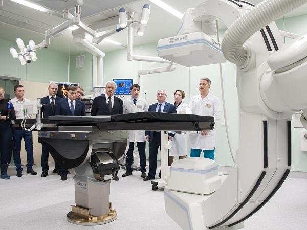 В Петербурге открыли новый корпус Мариинской больницы