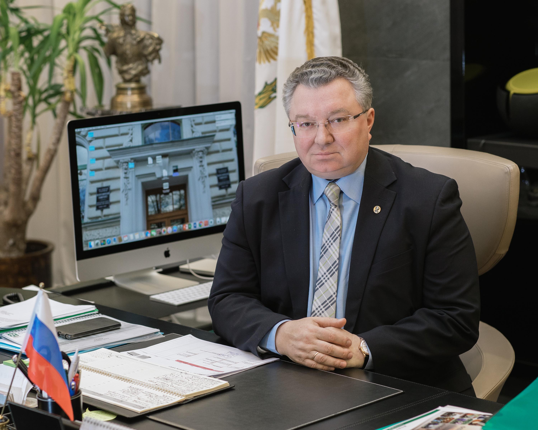 Ректор СПбПУ, академик РАН А.И.Рудской