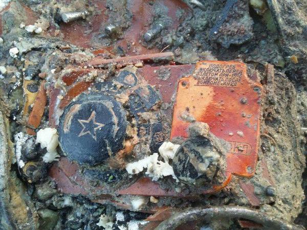 Возле «Экспофорума» нашли сбитый самолет времен Великой Отечественной войны и останки летчика