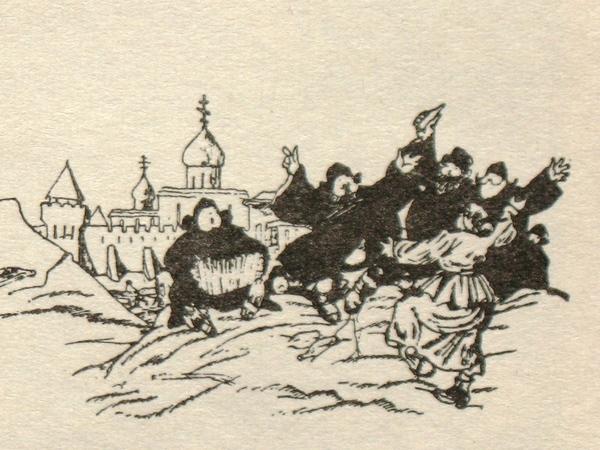 """Журнал """"Будильник"""", март 1917 года."""