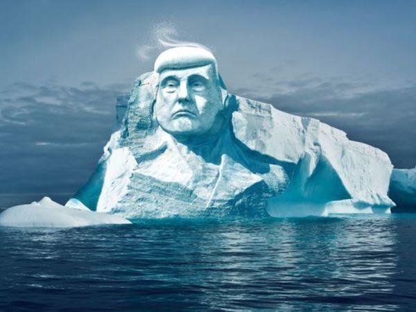 Финны сделают огромную статую Трампа изо льда