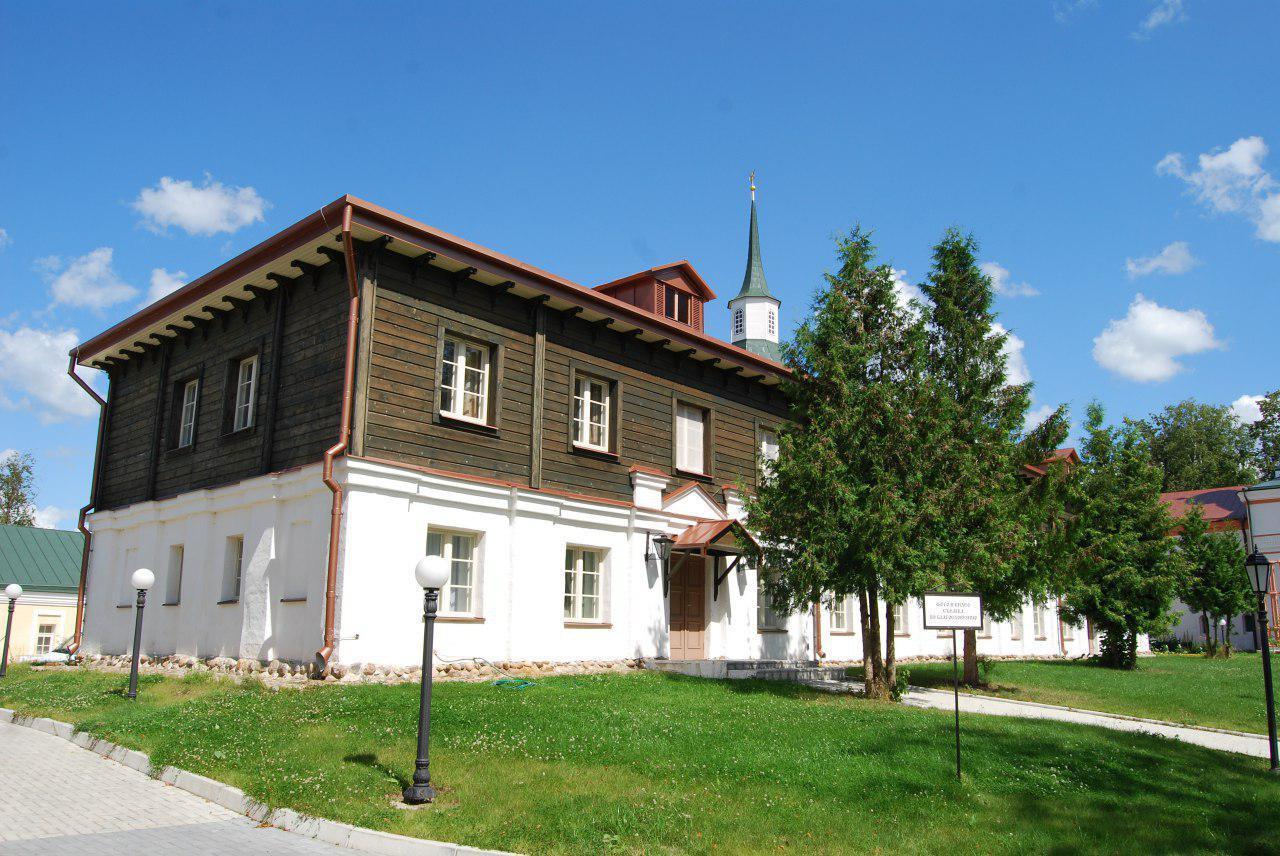 Братский корпус Иверского монастыря на Валдае после реставрации