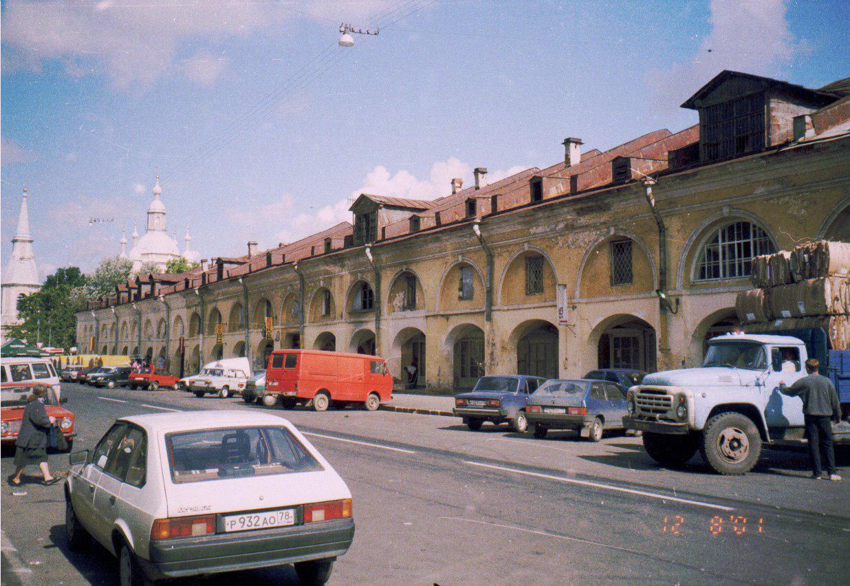 Андреевский рынок в Петербурге до укрепления и рестраврации, 2001 год