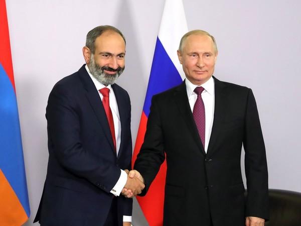 Путин впервые встретился с новым премьером Армении Пашиняном