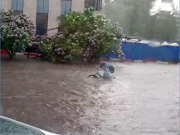 Москва ушла под воду